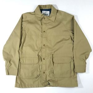 VTG Woolrich Women's Khaki Windbreaker Jacket
